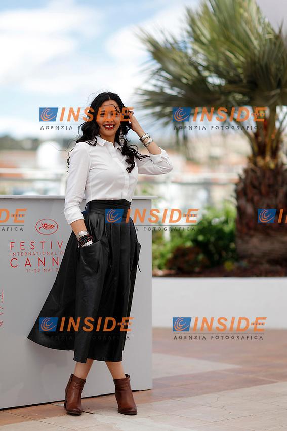 Maisa Abd Elhadi<br /> Festival di Cannes 2016 <br /> Foto Panoramic / Insidefoto