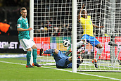 27th March 2018, Olympiastadion, Berlin, Germany; International Football Friendly, Germany versus Brazil; Goal scored by Gabriel Jésus (Brazil) in the 37th minute