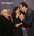 Danny DeVito, Lucy DeVito and Tony Shalhoub attends the 2017 Drama Desk Awards at Town Hall on June 4, 2017 in New York City.