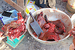Pig In Local Market