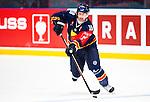 Stockholm 2014-09-05 Ishockey CHL Djurg&aring;rdens IF - Eisb&auml;ren Berlin :  <br /> Djurg&aring;rdens Joakim Eriksson i aktion <br /> (Foto: Kenta J&ouml;nsson) Nyckelord:  Djurg&aring;rden Hockey Hovet CHL Eisb&auml;ren Berlin portr&auml;tt portrait