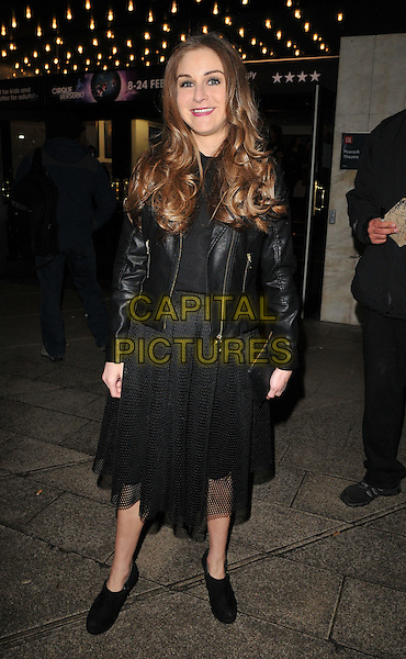 Nikki Grahame attends the Zippo's Cirque Berserk! press night, Peacock Theatre, Portugal Street, London, UK, on Tuesday 09 February 2016.<br /> CAP/CAN<br /> &copy;CAN/Capital Pictures