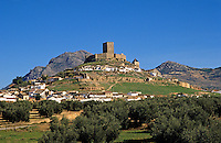 Alcaudete, Jaen, Andalucia, Spain.  14th Century castle rebuilt after the reconquest of Al Andalus.