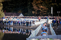 compact women's elite race with only few laps to go <br /> <br /> UEC CYCLO-CROSS EUROPEAN CHAMPIONSHIPS 2018<br /> 's-Hertogenbosch – The Netherlands<br /> Women's Elite Race