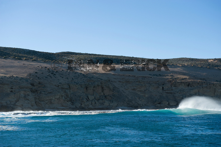 Coastline on the way to Benders in Kalbarri, Western Australia.