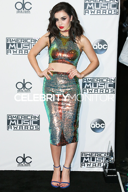LOS ANGELES, CA, USA - NOVEMBER 23: Charli XCX poses in the press room at the 2014 American Music Awards held at Nokia Theatre L.A. Live on November 23, 2014 in Los Angeles, California, United States. (Photo by Xavier Collin/Celebrity Monitor)