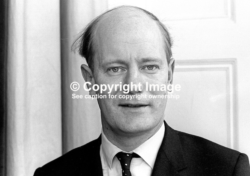 Robin Chichester-Clark, MP, Ulster Unionist, Westminster, Londonderry constituency, 196802000099<br />