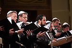 20.12.2015, Berlin Synagoge Rykestraße. Grand Final Concert of all choirs at the Louis Lewandowsky Festival for synagogal music. The Moscow Male Jewish Cappella
