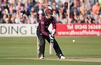 Tom Banton of Somerset CCC scoops straight to Zampa off Bopara during Essex Eagles vs Somerset, Vitality Blast T20 Cricket at The Cloudfm County Ground on 7th August 2019