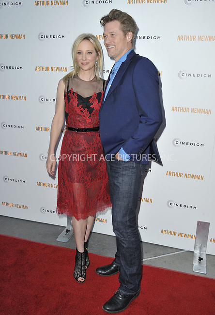 WWW.ACEPIXS.COM....April 18 2013, LA....Anne Heche and James Tupper arriving at the Los Angeles premiere of 'Arthur Newman' at ArcLight Hollywood on April 18, 2013 in Hollywood, California.......By Line: Peter West/ACE Pictures......ACE Pictures, Inc...tel: 646 769 0430..Email: info@acepixs.com..www.acepixs.com