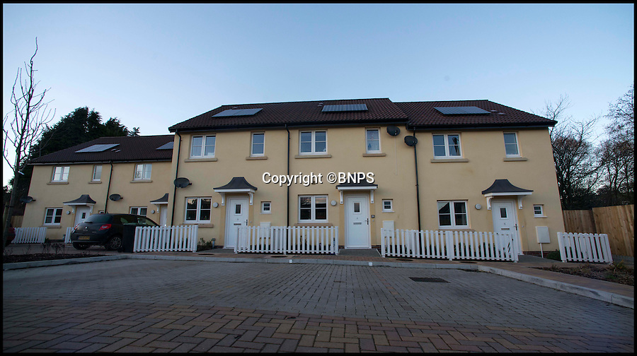 BNPS.co.uk (01202 558833)<br /> Pic: TomWren/BNPS<br /> <br /> Residents in one of the worst areas of Britain for affordable housing have built five new homes for local families thanks to the generosity of a selfless woman who feared for the decline of her village.<br /> <br /> The redoubtable Vanora Hereward bought an area of green land in the hope of using it to revitalise Toller Porcorum in West Dorset  after the Post Office, shop and pub closed due to a lack of custom.<br /> <br /> The late solicitor donated the plot to the parish council and help set up a trust to launch a bid to develop the houses on it.