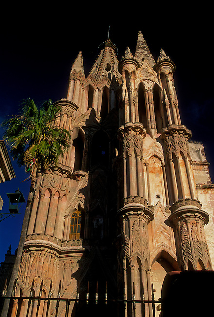 La Parroquia (Parish Church), San Miguel de Allende, Guanajuato State, Mexico, North America