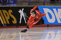 SPEEDSKATING: CALGARY: Olympic Oval, 25-02-2017, ISU World Sprint Championships, 500m Men, HÂvard Holmefjord Lorentzen (NOR), ©photo Martin de Jong