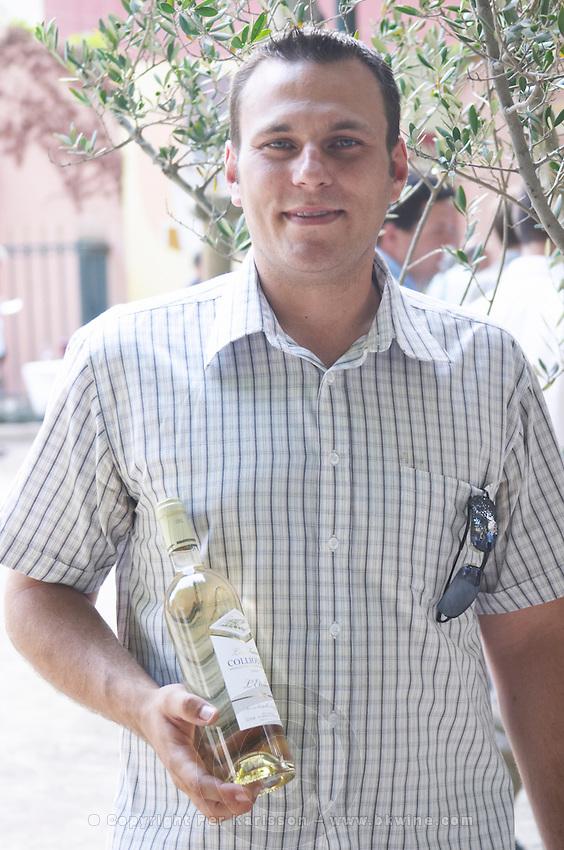 Xavier Saint-Dizier Cave l'Etoile. banyuls Roussillon. France. Europe. Bottle.