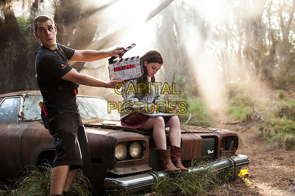 Jane Levy .on the set of Evil Dead (2013) .*Filmstill - Editorial Use Only*.CAP/NFS.Supplied by Capital Pictures.