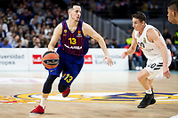 Thomas Heurtel of FC Barcelona Lassa during Turkish Airlines Euroleague match between Real Madrid and FC Barcelona Lassa at Wizink Center in Madrid, Spain. December 13, 2018. (ALTERPHOTOS/Borja B.Hojas) /NortePhoto.com