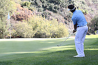 02/16/14 Pacific Palisades, CA: during the fourth round of the Northern Trust Open held at the Riviera Country Club.
