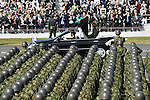 October 23, 2016, Asaka, Japan - Japanese Prime Minister Shinzo Abe in formal attire troops during an annual Armed Forces Day celebration in honor of Japans defense forces at the Ground Self-Forces parade ground in Asaka, outside of Tokyo, on Sunday, October 23, 2016. (Photo by Natsuki Sakai/AFLO) AYF -mis-