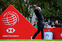 Adam Scott on the 3rd tee  during the 1st round at the WGC HSBC Champions 2018, Sheshan Golf CLub, Shanghai, China. 25/10/2018.<br /> Picture Phil Inglis / Golffile.ie<br /> <br /> All photo usage must carry mandatory copyright credit (&copy; Golffile | Phil Inglis)