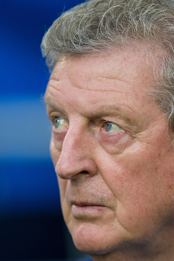 England's Manager Roy Hodgson<br /> <br /> Photographer Craig Mercer/CameraSport<br /> <br /> International Football - 2016 UEFA European Championship - Group B - England v Russia - Saturday 11th June 2016 - Stade Velodrome, Marseille - France <br /> <br /> World Copyright &copy; 2016 CameraSport. All rights reserved. 43 Linden Ave. Countesthorpe. Leicester. England. LE8 5PG - Tel: +44 (0) 116 277 4147 - admin@camerasport.com - www.camerasport.com