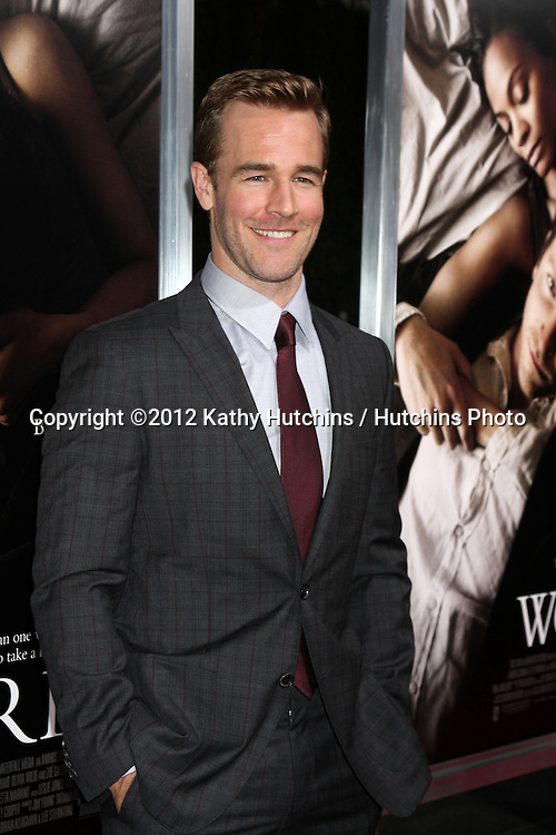 "LOS ANGELES - SEP 4:  James Van Der Beek arrives at ""The Words"" Premiere at ArcLight Cinemas on September 4, 2012 in Los Angeles, CA"