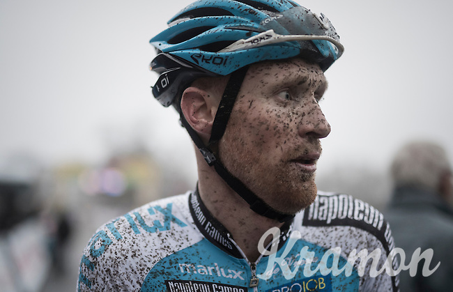 Klaas Vantornout (BEL/Marlux-NapoleonGames) post-finish<br /> <br /> UCI Cyclocross World Cup Namur/Belgium 2016