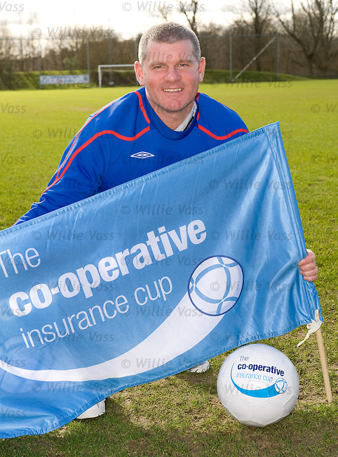 Ian Durrant promotes the Co-Op Cup final with Celtic on Sunday