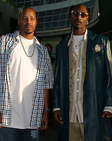 "©2004 KATHY HUTCHINS /HUTCHINS PHOTO.PREMIERE OF ""CATWOMAN"".HOLLYWOOD, CA.JULY 19, 2004..SNOOP DOGG.WARREN G"