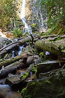 Mingus Falls, located in The Great Smoky Mountains National Park, North Carolina.