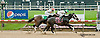 Atomic Orange Vet winning at Delaware Park racetrack on 6/19/14