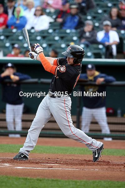 Alex Presley -2015 Fresno Grizzlies (Bill Mitchell)