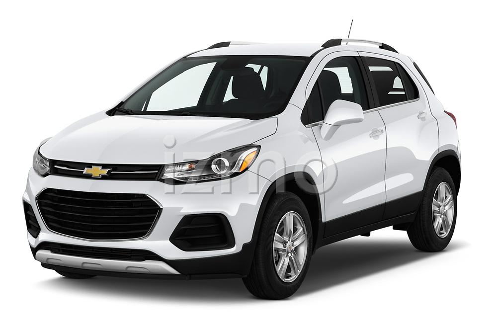 2019 Chevrolet Trax LT 5 Door SUV angular front stock photos of front three quarter view