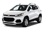 2019 Chevrolet Trax LT 5 Door SUV angular front stock photos of front three quarter view
