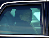 Washington, DC - January 20, 2009 -- United States President Barack Obama sits in his limousine as he departs the U.S Capitol Building after being sworn in as the 44th President of the United States during the 56th Presidential Inauguration ceremony in Washington, D.C., USA 20 January 2009..Credit: Tannen Maury - Pool via CNP
