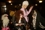 New Romantics youth cult look similar to the Punk movement Newcastle upon Tyne. UK.  Followers of the pop band Sigue Sigue Sputnik. Neal Whitmore aka Neal X.