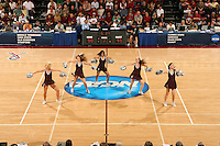 19 March 2007: The Stanford Dollies during Stanford's 68-61 second round loss to Florida State in the NCAA women's basketball tournament at Maples Pavilion in Stanford, CA.