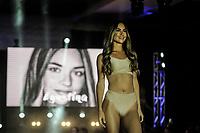 MIAMI, FL, 19.10.2018 - ANNUAL FASHION SHOW - Desfile anual de moda das Cheerleaders do Miami Dolphins, no Hard Rock Stadium, na noite desta sexta-feira (19). (Foto: Jayson Braga / Brazil Photo Press)