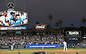 Kenta Maeda (Dodgers),<br /> OCTOBER 20, 2016 - MLB :<br /> Kenta Maeda of the Los Angeles Dodgers prays before the fourth inning during the game five of the National League Championship Series against the Chicago Cubs on October 20, 2016, at Dodger Stadium in Los Angeles, CA. (Photo by AFLO)