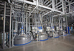 The 5K tanks at the Sherwin-Williams Fernley, Nevada plant Wednesday, May 21, 2014