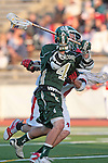 Redondo Beach, CA 05/11/10 - Conor Murphy (MC # 4) in action during the 2010 Los Angeles Boys Lacrosse championship game, Mira Costa defeated Palos Verdes 12-10 at Redondo Union High School.