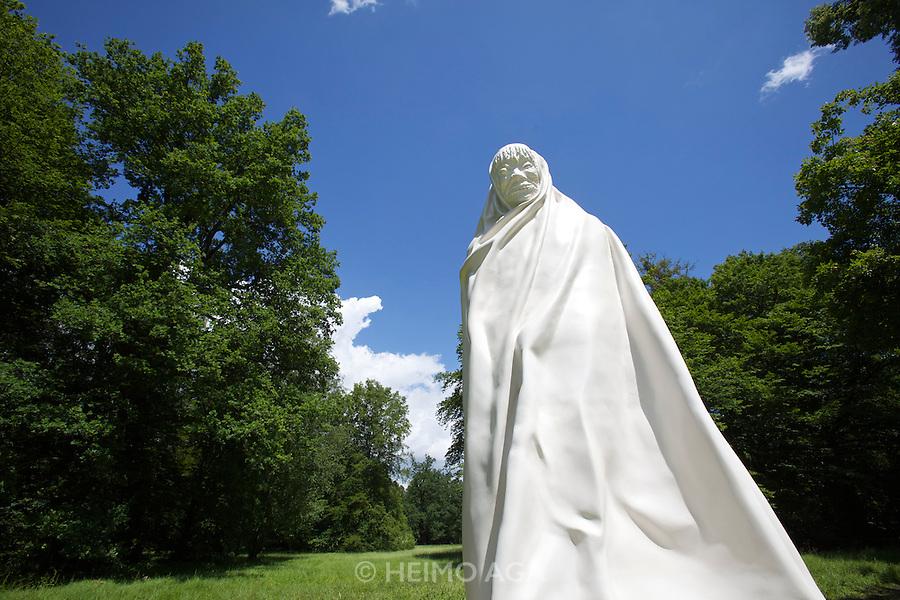 dOCUMENTA (13) in Kassel, Germany..Karlsaue..Sculpture by Apichatpong Weerasethakul.