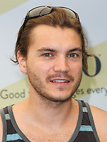 "BEVERLY HILLS, CA, USA - JUNE 14: Emile Hirsch at the Children Mending Hearts' 6th Annual Fundraiser ""Empathy Rocks: A Spring Into Summer Bash"" on June 14, 2014 in Beverly Hills, California, United States. (Photo by Celebrity Monitor)"
