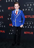 09 April 2018 - Hollywood, California - Maxwell Jenkins. NETFLIX's &quot;Lost in Space&quot; Season 1 Premiere Event held at Arclight Hollywood Cinerama Dome. <br /> CAP/ADM/BT<br /> &copy;BT/ADM/Capital Pictures