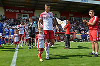 Players Arrive during Stevenage vs Tranmere Rovers, Sky Bet EFL League 2 Football at the Lamex Stadium on 4th August 2018
