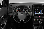Car pictures of steering wheel view of a 2020 Mitsubishi Mitsubishi ASX ASX Diamond Edition 5 Door SUV