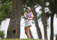 Alexa Pano swings, Saturday, June 27, 2020 during the final round of the WAPT pro golf tournament in Bella Vista. Check out nwaonline.com/200627Daily/ for today's photo gallery. <br /> (NWA Democrat-Gazette/Charlie Kaijo)