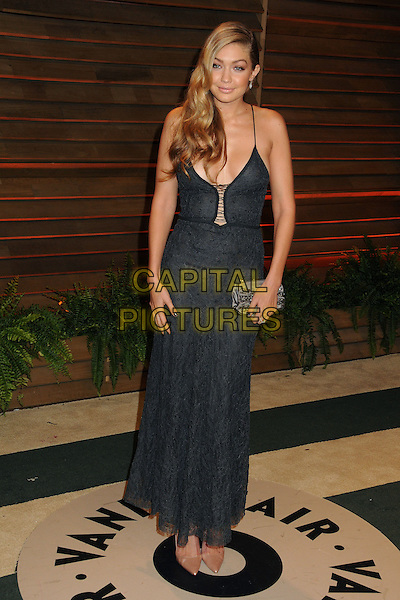 02 March 2014 - West Hollywood, California - GiGi Hadid. 2014 Vanity Fair Oscar Party following the 86th Academy Awards held at Sunset Plaza. <br /> CAP/ADM/BP<br /> &copy;Byron Purvis/AdMedia/Capital Pictures