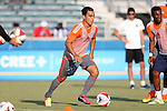 22 July 2016: Carolina's Omar Bravo (MEX). The Carolina RailHawks hosted Miami FC at WakeMed Stadium in Cary, North Carolina in a 2016 North American Soccer League Fall Season game. The game ended in a 3-3 tie.