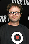 """HOLLYWOOD, CA. - April 30: Rainn Wilson arrives at the Los Angeles premiere of """"Star Trek"""" at the Grauman's Chinese Theater on April 30, 2009 in Hollywood, California.a"""