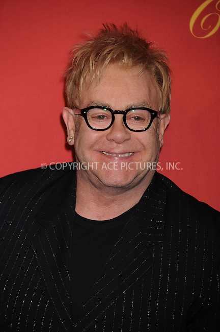 WWW.ACEPIXS.COM . . . . . ....April 30 2009, New York City....Musician Elton John arriving at the Cartier 100th Anniversary in America Celebration at Cartier Fifth Avenue Mansion on April 30, 2009 in New York City.....Please byline: KRISTIN CALLAHAN - ACEPIXS.COM.. . . . . . ..Ace Pictures, Inc:  ..tel: (212) 243 8787 or (646) 769 0430..e-mail: info@acepixs.com..web: http://www.acepixs.com
